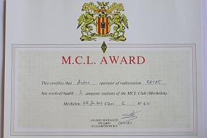 MCL-AWARD