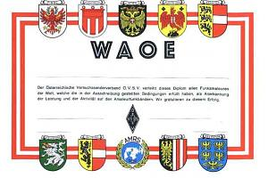 WAOE-VHF (WORKED ALL AUSTRIA VHF)
