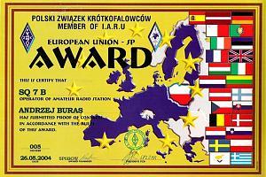 EU-SP-A (EUROPEAN UNION SP AWARD)