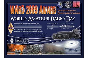 WORLD AMATEUR RADIO DAY 2009