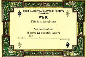 Worked EI Counties Award (WEIC)