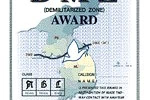 DMZ – DLEMILITARIZED ZONE AWARD