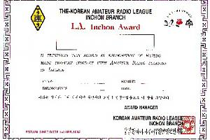 IA (INCHON AWARD)