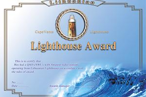 LITHUANIAN LIGHTHOUSE AWARD
