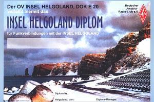 HELGOLAND ISLAND DIPLOMA