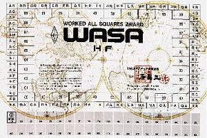 WASA-HF (WORKED ALL SQUARES AWARD HF)