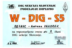 W-DIG-S5 (WORKED DIG S5 AWARD)