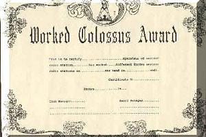 COLOSSUS AWARD