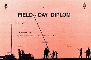 FIELD DAY DIPLOM
