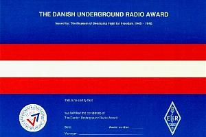 THE DANISH UNDERGROUND RADIO AWARD