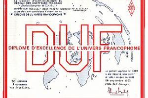 DUF (DIPLOME DE L'UNIVERS FRANCOPHONE)