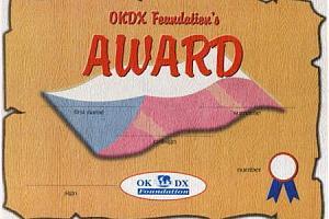 OKDXF AWARD