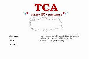 TCA (TURKEY 25 CITIES AWARD)