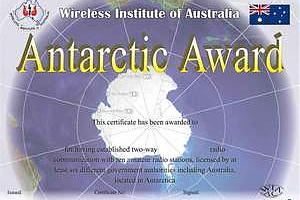ANTARCTIC AWARD