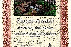 PIEPER AWARD