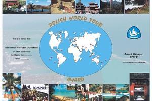 POLISH WORLD TOUR AWARD
