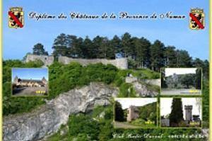 DIPLOME DES CHATEAUX DE LA PROVINCE DE NAMUR (CASTLES OF THE PROVINCE OF NAMUR AWARD)