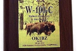 W-100-C - Worked in 100 CONTESTs