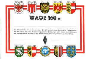 WAOE 160m WORKED ALL AUSTRIA