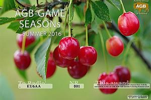 AGB-GAME-SEASONs Summer 2016