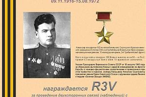 К 100-летию со дня рождения Героя Советского Союза Конышева Н.С.