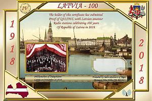 Latvia-100