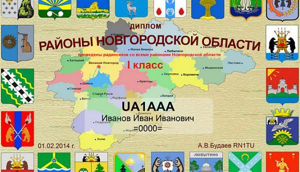 Районы Новгородской области