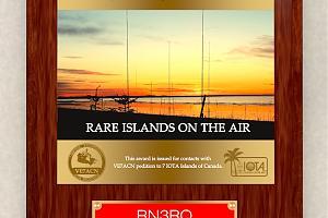 CANADA - Rare Islads on the air