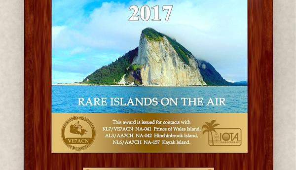 ALASKA 2017 - Rare Islands on the air