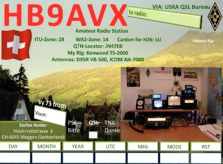HB9AVX