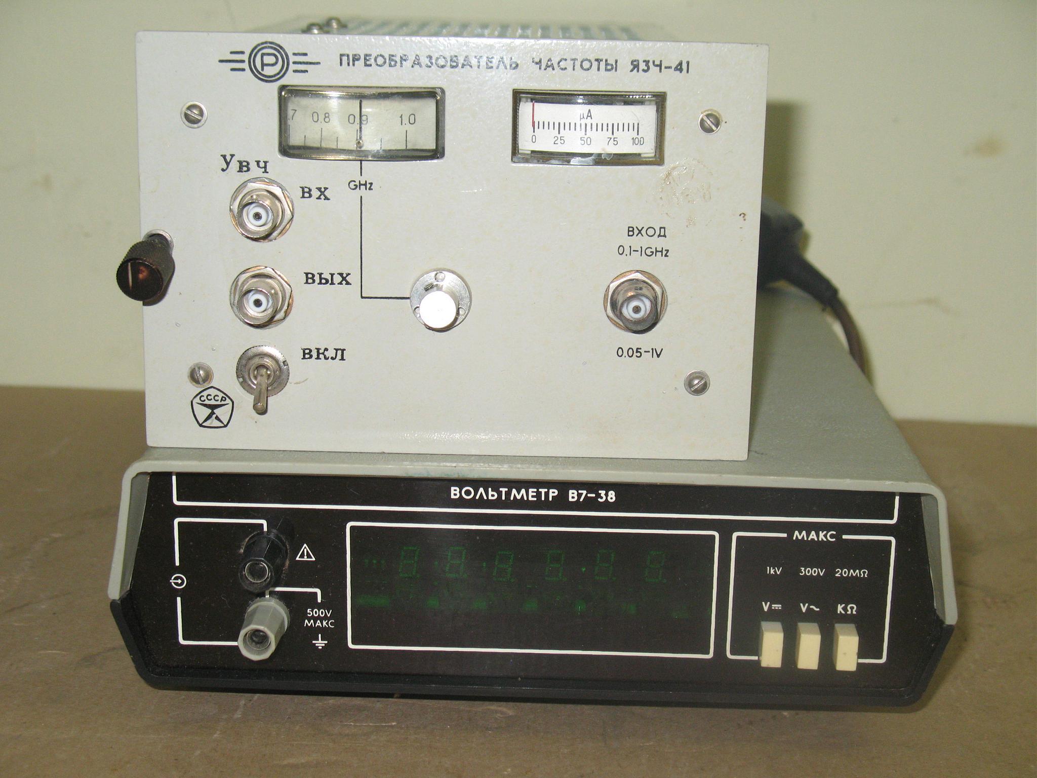 вольтметр в7-38 схема