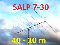 Продам 7-50 мГц КВ антенны, Логопериодическая SALP 730