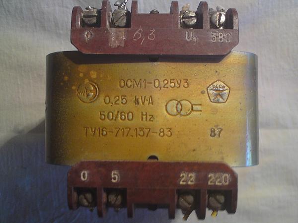 Продам трансформатор ОСМ1-0,25