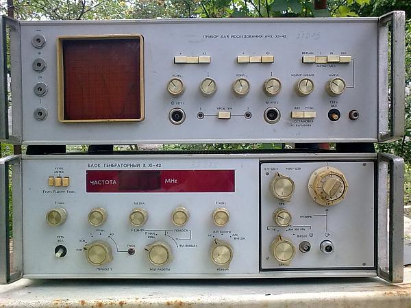 Продам Измеритель АЧХ Х1-42  , полный комплект