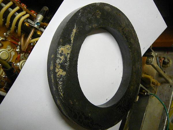 Продам ферритовое кольцо  125мм
