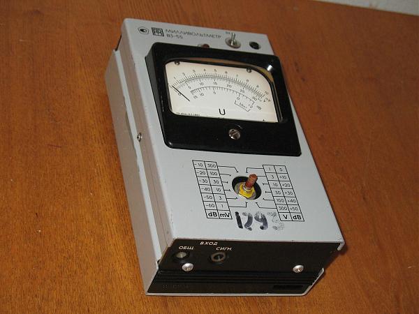 Продам Вольтметр В3-55