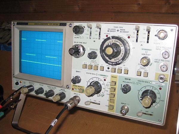 Продам Осциллограф Panasonic VP-5512P в отл. состоянии