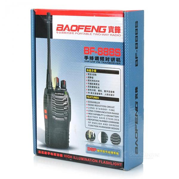 Продам Носимая  радиостанция Baofeng BF-888S