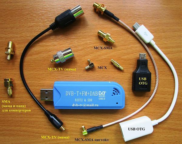 Продам Широкополосный SDR радиосканер КВ и УКВ из R820T2