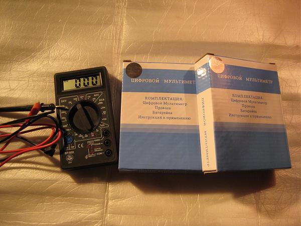Продам Мультиметры DT-832 новые в упаковке