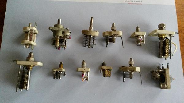 Продам Переменные подстроечные конденсаторы