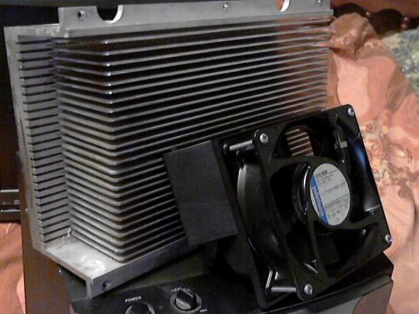 Продам радиаторы для усилителя