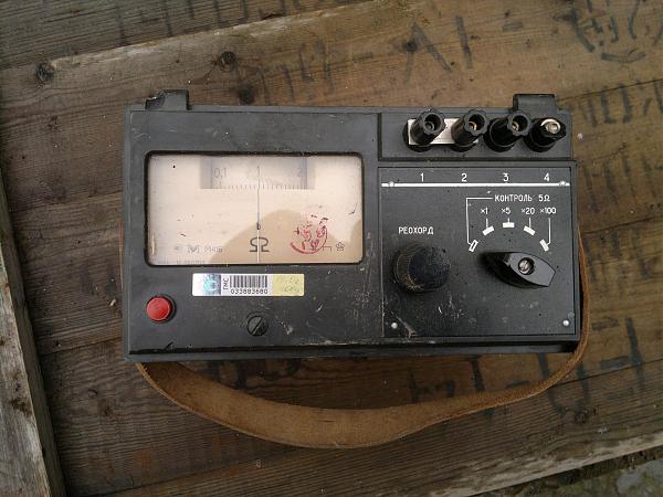 Продам м416 Измеритель сопротивления заземления