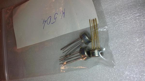 Продам Микросхемы серии К504 золоченые