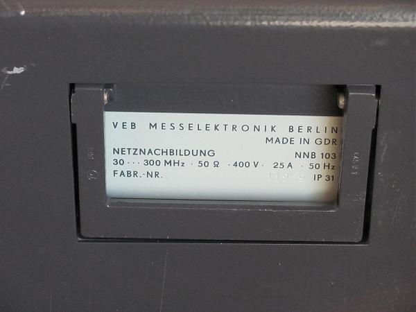 Продам Эквивалент сети NNB103