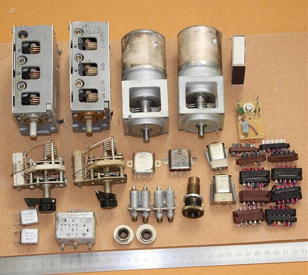 Продам Запчасти от Р-108м и Р105м.