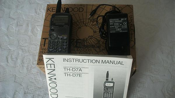 Продам Kenwood TH-D7E