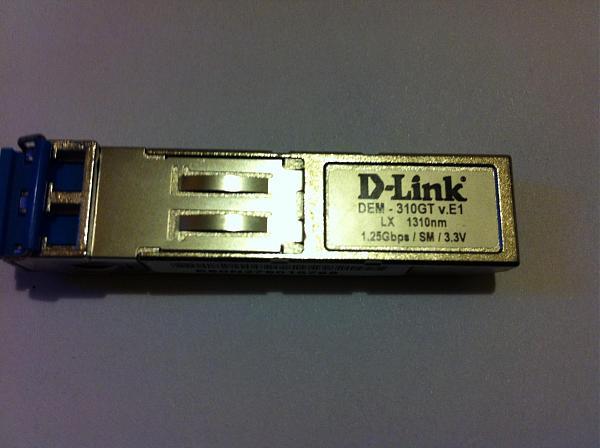 Продам D-Link SFP модуль DEM-1310GT
