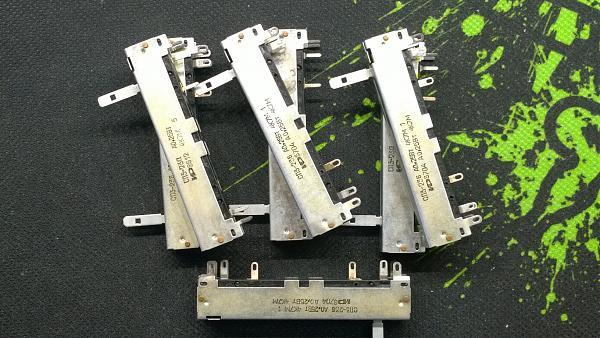 Продам резистор переменный ползунковый 4к7