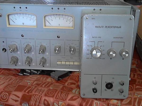 Продам Г3-118 фильтр режекторный